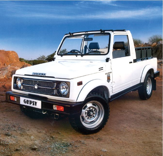 Suzuki Gypsy front view